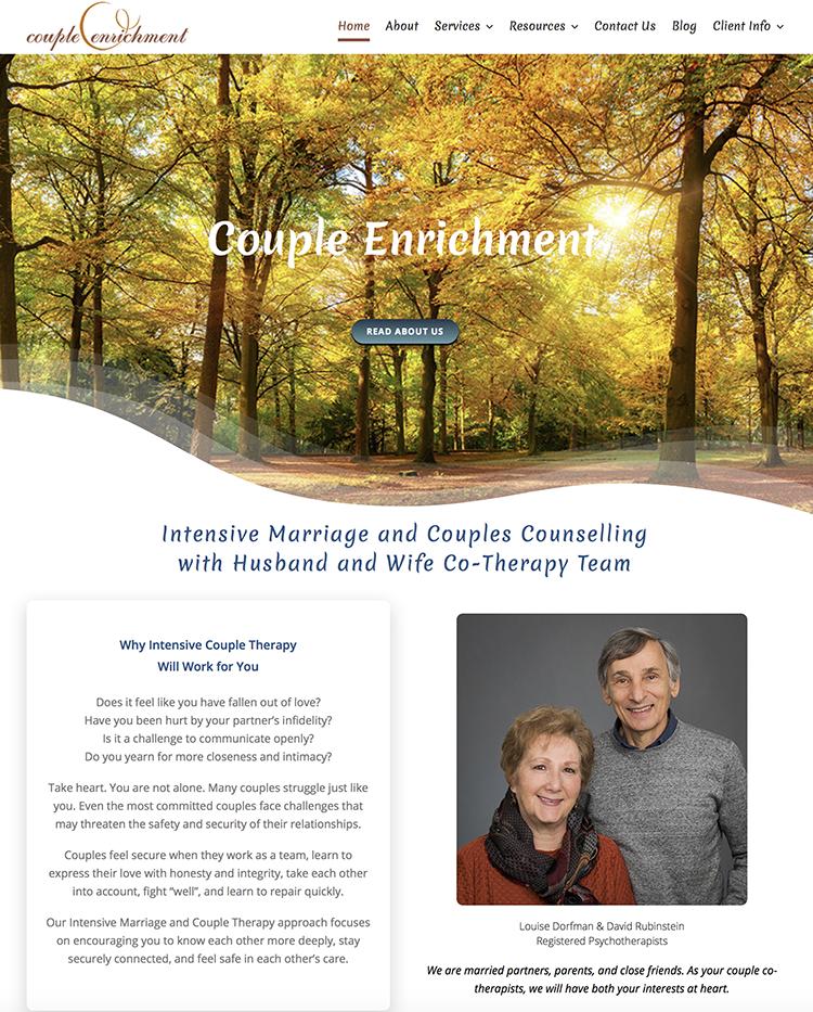 Couple-Enrichment Website