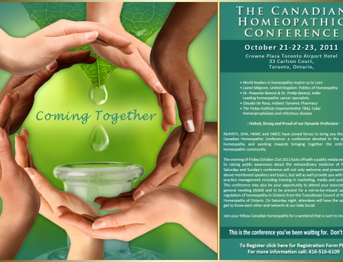 Canadian Homeopathic Conference – 2011